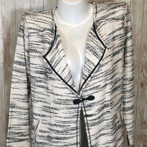 Style & Co Evening Career Blazer Coat Jacket M